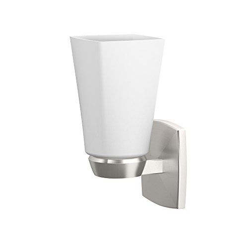Gatco 1691 Jewel Single Sconce, Satin Nickel by Gatco