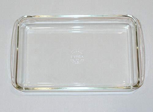 Vintage Pyrex 2 Quart Clear Glass Rectangle Lasagna Casserole Baking Dish 232