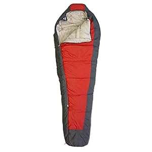 Setmil - Saco de dormir COMPACT rojo - Saco de dormir alpino mummy Unisex Adulto. Saco tipo momia con bolsa de compresión.: Amazon.es: Deportes y aire libre
