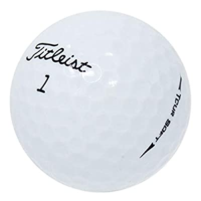 Titleist Tour Soft Near Mint Quality Golf Balls (12 Pack)