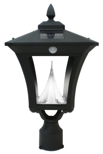 Outdoor Lamp Post With Motion Sensor - 9