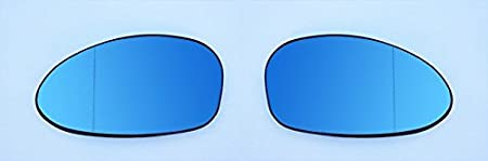 Spiegelgläser Links Rechts Asphärisch Blau Set Auto