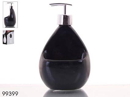 Asekible - Dispensador jabón cocina negro