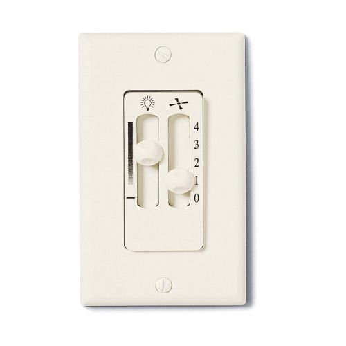 Emerson SW90 Switch for Ceiling Fan Control, Almond