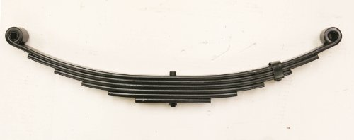 New Trailer Leaf Spring-6 Leaf Double Eye 3500lbs Capacity for 7000 Lbs Axle - -