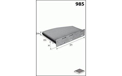 Mecafilter EKR7127 Filtre dhabitacle