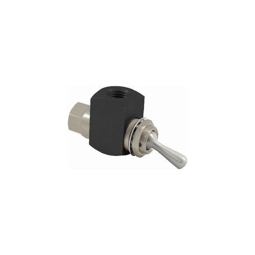 Clippard GTV-2 2-Way Toggle Valve, 1/4'' NPT Female, 38 SCFM at 50 PSIG, 67 SCFM at 100 PSIG by clippard (Image #1)