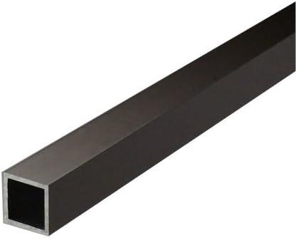 アルミ等辺角パイプ 2.0x40x40x4000mm(2M+2M) ブロンズ