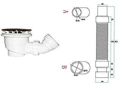 Plato de Ducha Mamparas de Ducha Angular Doble Puerta Abatible Antical Cristal 6mm 90x80x185cm