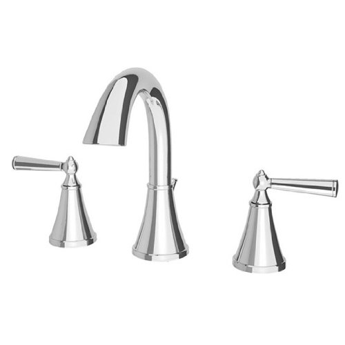 Pfister GT49GL0K Saxton 2-Handle 8 Inch Widespread Bathroom Faucet in Polished Chrome (Saxton 2 Handle)