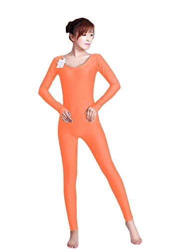 - 31dLG43cySL - WOLF UNITARD Long Sleeve Unitard Bodysuit Dancewear