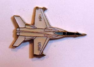 Hornet 18a (Handsome Enamel Lapel pins - Airplane McDonald Douglas FA-18A Hornet Fighter Plane Lapel Hat Pin Military - Unique Pins and Brooches)