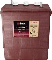 Replacement For J305G-AC 6 VOLT DEEP-CYCLE FLOODED BATTERY - WITH T2 TECHNOLOGY 902 315AH - 6v Cycle Ac Deep