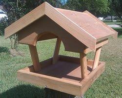 Bird Houses by Mark Fly Thru Cedar ()