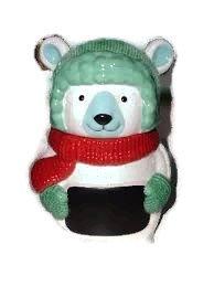 polar bear cookie jar - 1