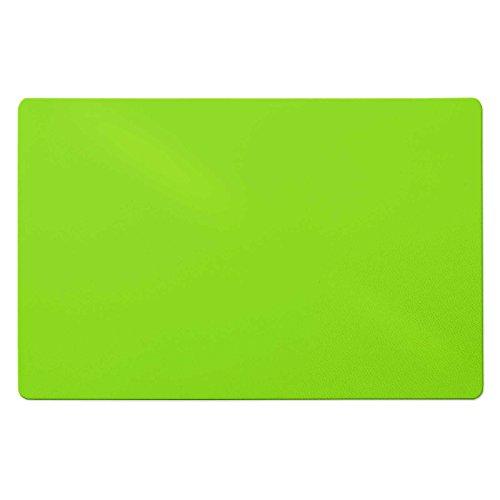 Trendige Schreibtischunterlage | Hellgrün | abwischbar | PVC-frei | 65 x 50 cm