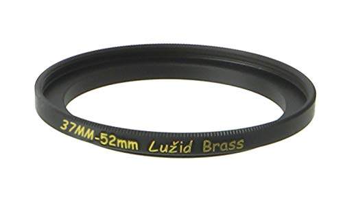 LUŽID Brass 37mm to 52mm Step Up Filter Ring Adapter 37 52 Luzid