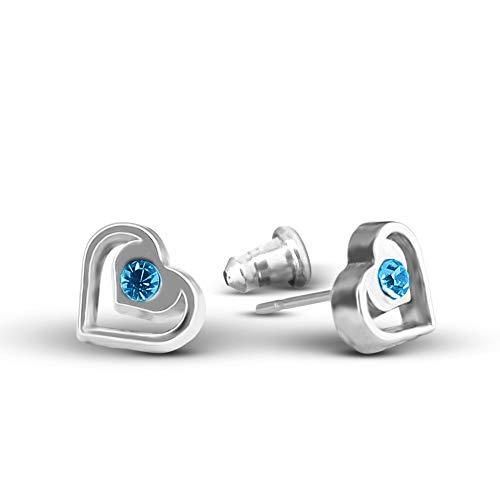 Heart Earrings For Women And Girls Stud Earrings Set Heart Stud Earrings - Heart Dangle Earrings For Girls And Tweens Earrings Sets for Girls and Small Earrings For Women   Cute Earrings For Girls