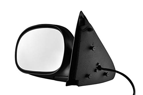2000 Ford F150 Heritage - Driver Side Unpainted Side View Mirror for 1997-2003 Ford F-150, 1997-1999 Ford F-250, 2004-2004 Ford F-150 Heritage