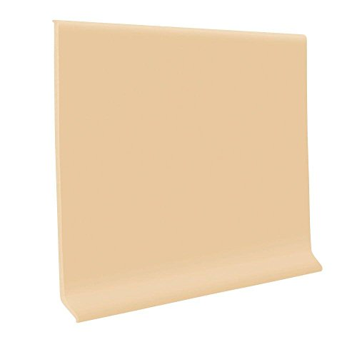 Camel 4 in. x 48 in. x 0.125 in. Vinyl Wall Cove Base (30-Pack)