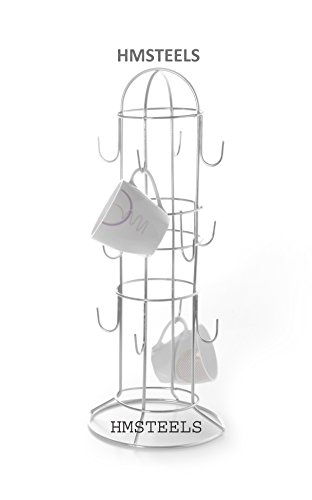 HMSTEELS Stainless Steel Cup Stand for 12 cup