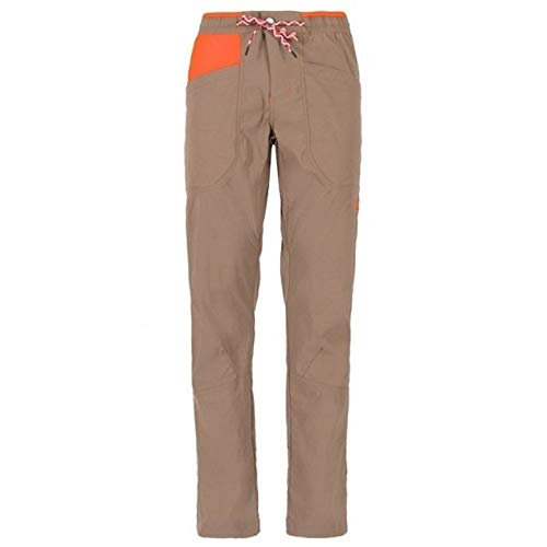 La Sportiva Talus Pant - Men's, Falcon Brown/Pumpkin, Medium, H59-804204-M