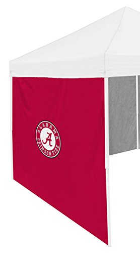 NCAA Alabama Crimson Tide 9 x 6 Side Panel Shade Wall, Adult, - Tide Alabama Crimson Tent
