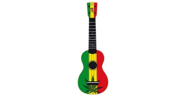 WiKi UK/REBEL Rasta - Ukelele, color verde: Amazon.es: Instrumentos musicales