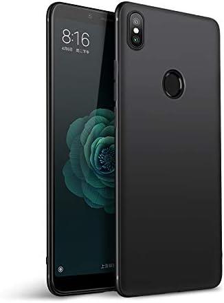Olliwon Funda Xiaomi Mi A2, Ultra Slim Silicona TPU Carcasa Anti-Arañazos y Antideslizante 360 Cover Case para Xiaomi Mi A2 Nergo