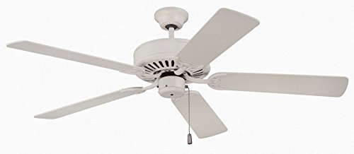 52' Builder Fan Collection - Craftmade K11133 Ceiling Fan Motor with Blades Included, 52
