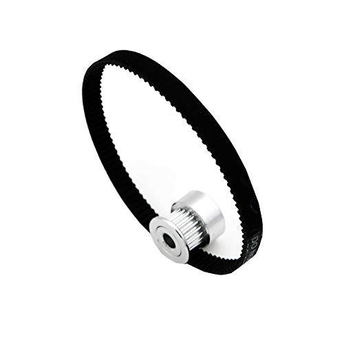 Zamtac HON-Mark 3D Printer Belt Closed Loop Rubber GT2 Timing Belt 200-2GT-6 Length 280mm Width 6mm Durable Printer Belt by GIMAX (Image #2)