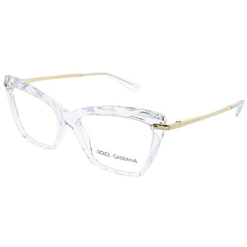Dolce & Gabbana Dolce & Gabanna DG5025 3133 53 Crystal Woman Cat Eye Eyeglasses