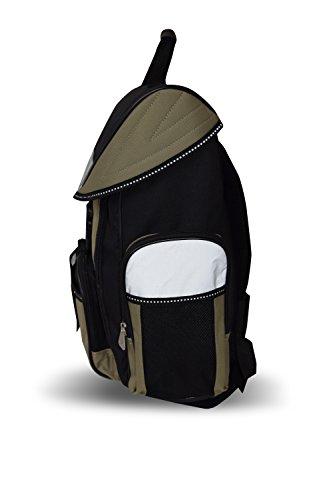 40 School School nbsp;Litres 18 nbsp;Cm Khaki Backpack Black nbsp;Cm 40 nbsp;Litres Amaro Amaro Black Backpack 18 qavwnCAX