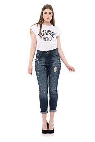 J'aime' 8574j Jeans Donna Unica Alta jn Vita qz7vxqWr