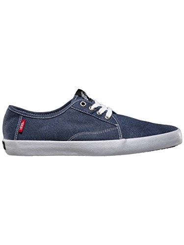 Vans Costa Mesa Mens Size 7 Black Canvas Sneakers Shoes