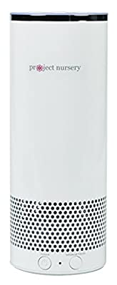 Smart Bluetooth Alexa Speaker by Project Nursery - Portable, Hands-Free, WiFi, Smart Speaker System for Multi Room, Indoor or Outdoor Use