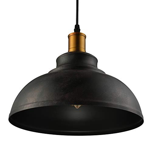 Rust Chandelier - BAYCHEER HL371892 Industrial Retro Style Iron 11.8