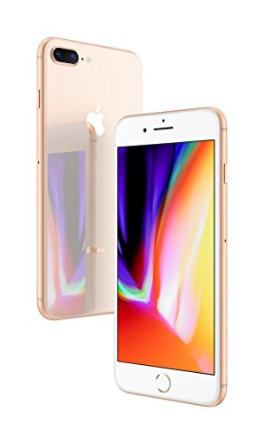 Apple iPhone 8 Plus, 256GB, Gold - Fully Unlocked (Renewed)