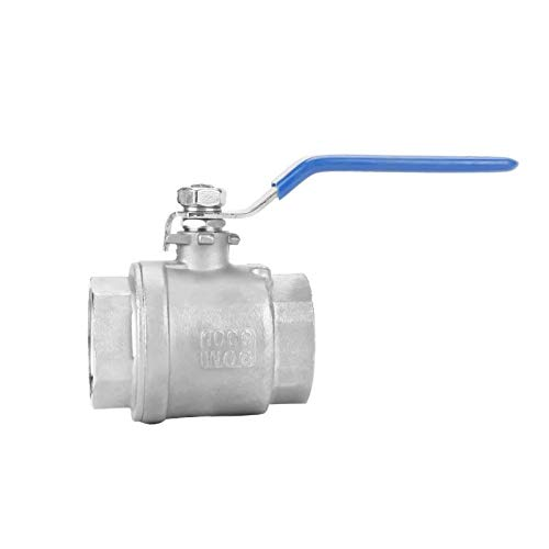 Ball Valve Two-Piece Full Port Female Thread Ball Valve 1-14 DN32 1000 WOG Water Valve Valvula solenoide 304 Stainless Steel