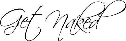 Picniva Naked Bathroom Stickers Black15 product image