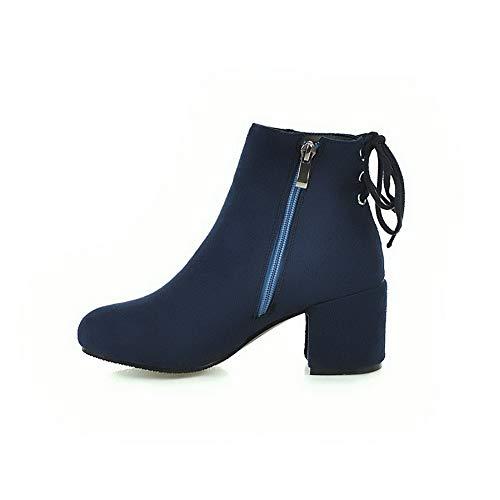 Cuña Sandalias Azul Con 1to9 Mns02881 Mujer pqF1nHwHT