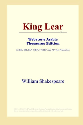 King Lear (Webster's Arabic Thesaurus