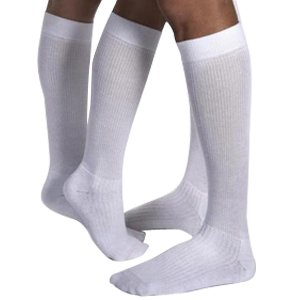 BI110494 - Bsn Jobst JOBST ActiveWear Knee-High Firm Compression Socks Medium, Black
