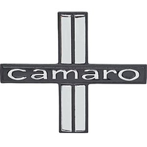 1967 Camaro Deluxe Door Panel Emblems - Pair
