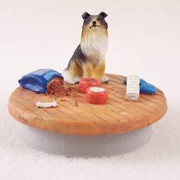 Conversation Concepts Miniature Collie Tricolor Candle Topper Tiny One \