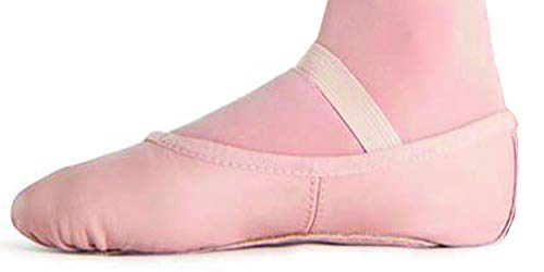 Bloch Erwachsene Arise, Ballettschläppchen Leder, Chromleder Sohle. Haut (Lachs) Rosa
