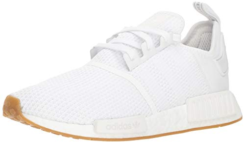 adidas Originals Men's NMD_R1 Running Shoe, White/Gum, 11 M US ()