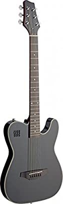 James Neligan 4/4 Model Electric Solid Body Folk Guitar with Cutaway
