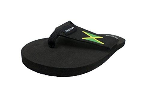 Sandalo Infradito Da Uomo E Da Donna In Giamaica Nero