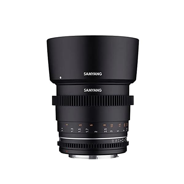 RetinaPix Samyang Brand Photography MF Lens 85MM T1.5 VDSLR MK2 Canon